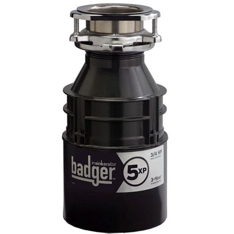 kitchen sink accessories badger 5xp garbage disposer