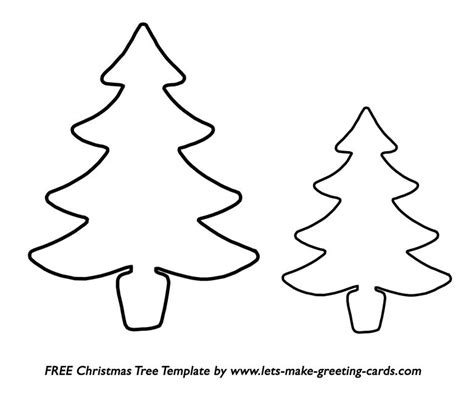 christmas tree tracing pattern 33 christmas tree templates in all shapes and sizes