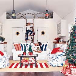 red white and blue home decor seaside inspired beach decor festive holiday rooms as