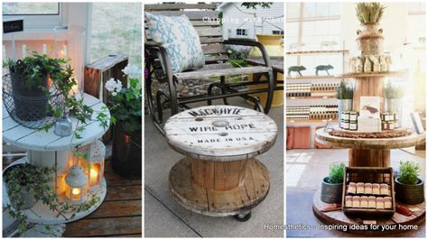 decor designs 16 beautiful and adaptable spool table designs