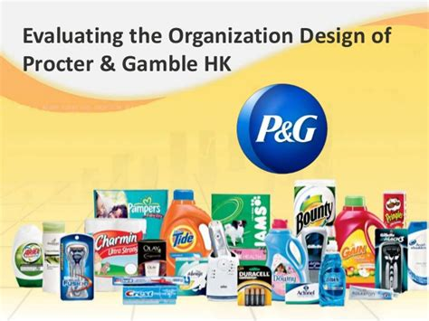 Market Structure For Procter And Gamble Mba 502 by Procter Gambler Organisation Websitereports243 Web