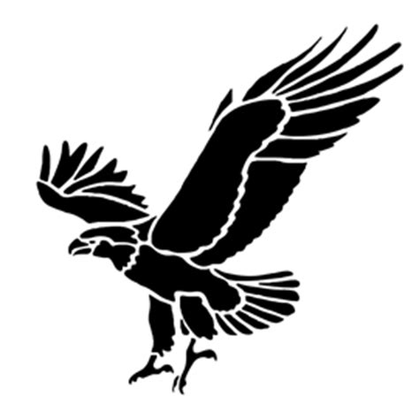 printable eagle stencils eagle stencil free stencil gallery