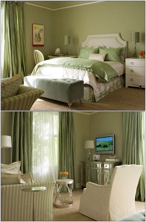 Olive Green Bedroom by Feel The Freshness Of Green Around You Every Morning When