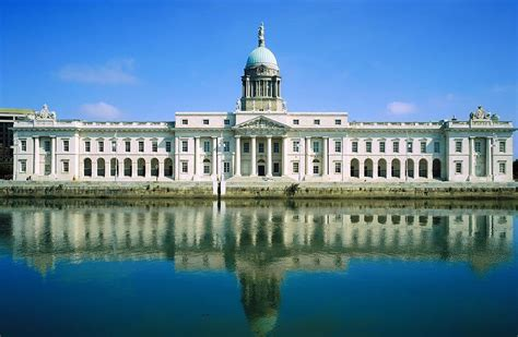 the custom house the custom house river liffey dublin photograph by the irish image collection
