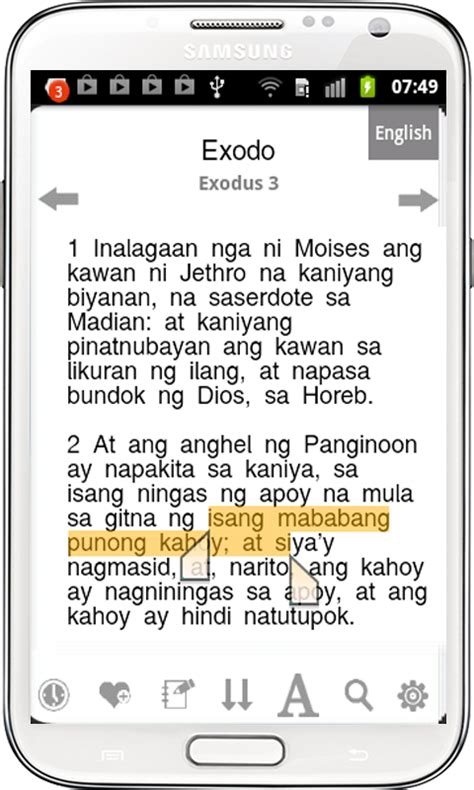 Explanation Letter In Tagalog Tagalog Bible Ang Biblia Android Apps On Play