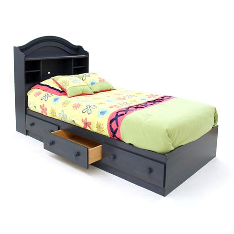 south shore twin platform bed shop south shore furniture summer breeze blueberry twin
