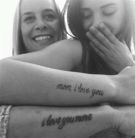 mother daughter tattoos tumblr on