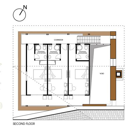 Large House Floor Plan Gallery Of Nam Dam Homestay And Community House 1 1 Gt 2