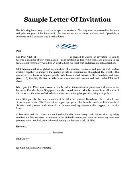 Invitation Letter Format For Puja Puja Invitation Letter Sle Futureclim Info