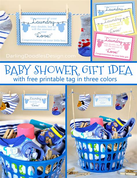 Baby Shower Gift Basket Poem by Loads Of And Laundry Doodles
