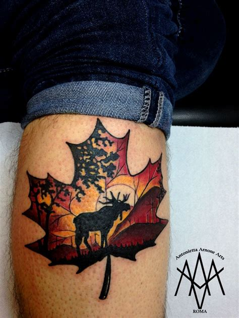 canadian maple leaf tattoo designs best 25 canadian ideas on canada