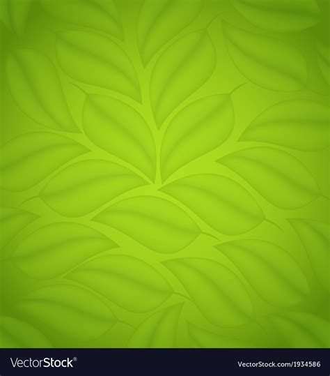 background friendly green leaves texture eco friendly background vector image