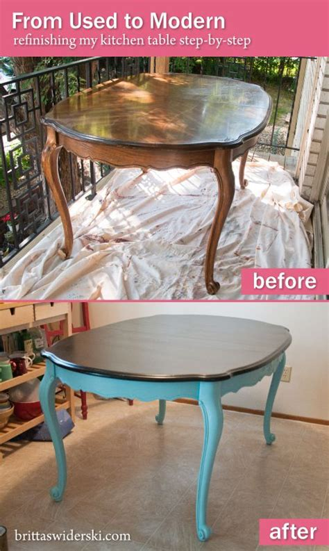 kitchen table refinishing ideas 25 best ideas about dining table redo on