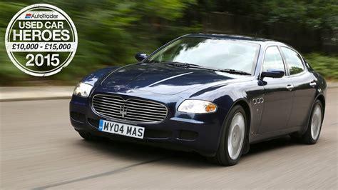 Maserati Used Car by Used Car Heroes 163 10 000 163 15 000 Maserati Quattroporte