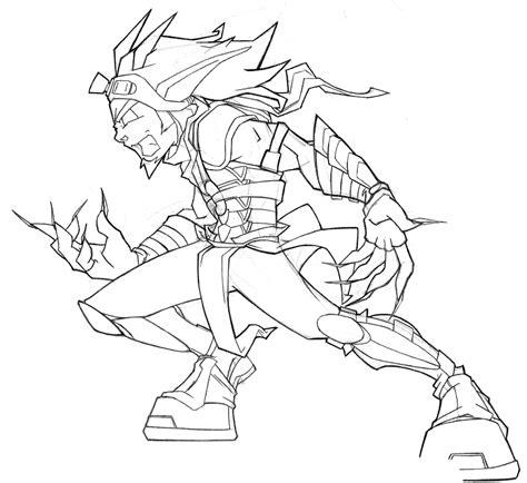 Dark Jak By Samuraiblack On Deviantart Jak And Daxter Coloring Pages