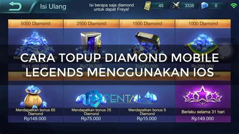 mobile legends top up cara melakukan top up mobile legends dengan ios andro01