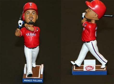 Texas Rangers Giveaways - may 18 2014 toronto blue jays vs texas rangers prince fielder bobblehead