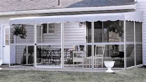 Temporary Patio Enclosure Rv Awning Screen Room Rainwear