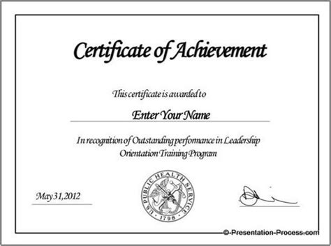 templates for english certificates create printable certificates in powerpoint in a jiffy