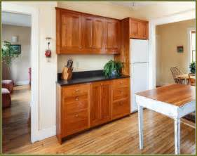 Natural cherry shaker kitchen cabinets home design ideas