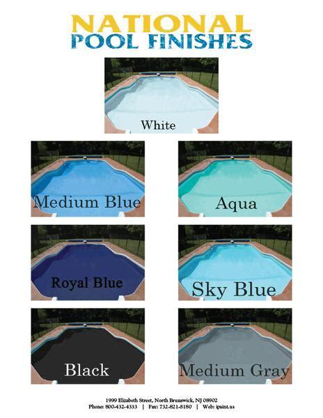 pool paint colors aqua kote acrylic waterbase pool paint 1 gallon 5