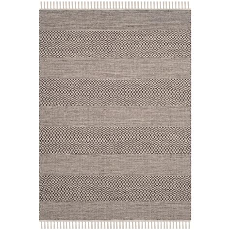 Area Rug 4 X 6 Safavieh Montauk Ivory Anthracite 4 Ft X 6 Ft Area Rug Mtk330n 4 The Home Depot