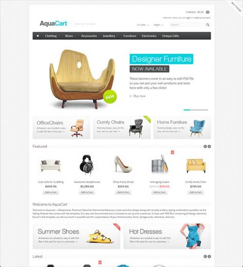 opencart change template 45 excellent opencart templates your customers cannot resist