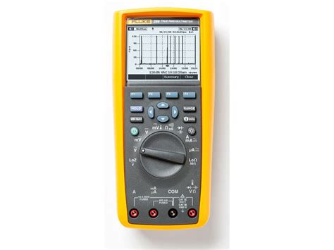 Multimeter Fluke 289 Fluke 289 True Rms Multimeter With Trend Capture Tequipment Net