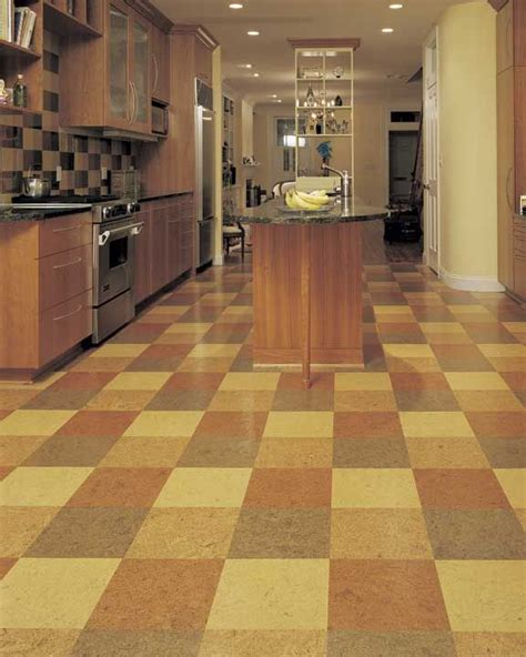 cork floor kitchen 301 moved permanently