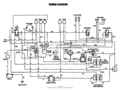 troy bilt electrical wiring diagrams free