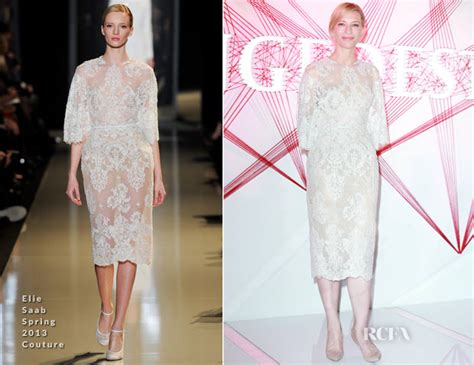 Catwalk To Carpet Cate Blanchett Carpet Style Awards by Cate Blanchett In Elie Saab Couture Sk Ii Promotional