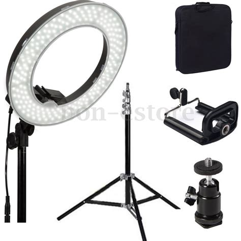 14 5500k dimmable led ring light for photo