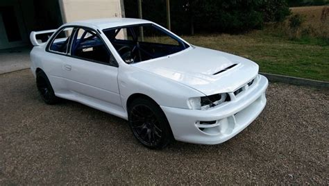 subaru gc8 widebody widebody quot 22b style quot conversion kit 60mm 4dr to 2dr