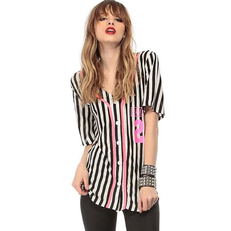 letter sleeve blouse summer new fashion letter print black white stripe