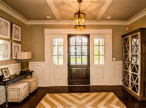 Decorating Foyers And Entryways Family Home With Open Floor Concept