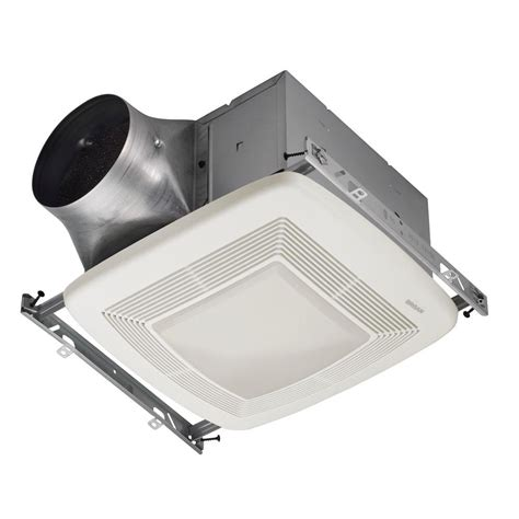 Bathroom Ceiling Light And Fan Broan Ultra Green 110 Cfm Ceiling Bathroom Exhaust Fan With Light And Light Energy