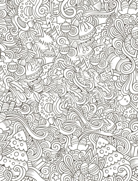 printable holiday adult coloring pages