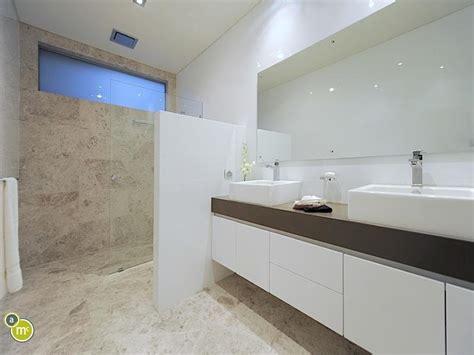 Ceramic Tile Designs For Bathrooms modern bathroom design with twin basins using ceramic