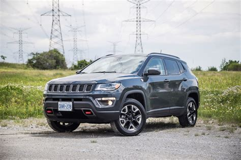 rhino jeep compass review 2017 jeep compass trailhawk canadian auto review
