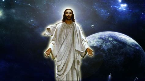 image of christ jesus in space wallpaper by re action1982 on deviantart