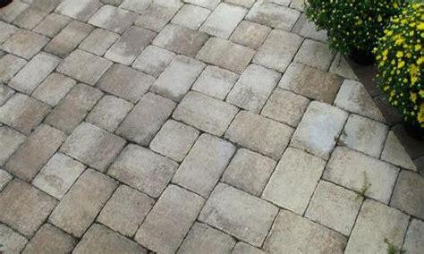 Simple Front Porch Brick Pavers Over Concrete Patio Paver Patio Concrete Slab
