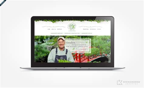 valley green landscaping kickcharge creative