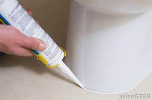 what are the different types of tub caulk with picture