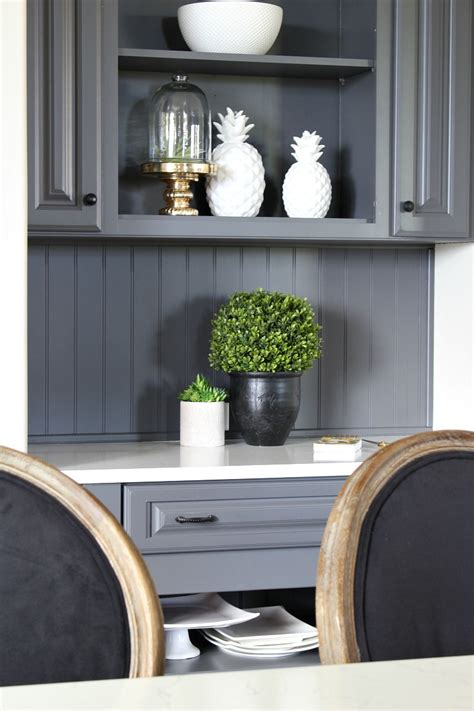 My Favorite Dark Gray Paint For Kitchen Cabinets   The