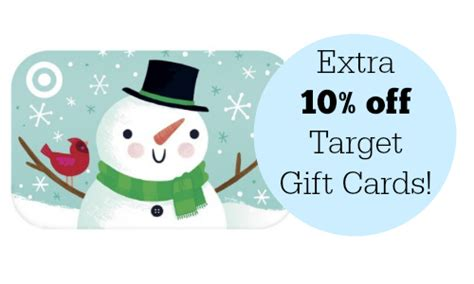 Can You Buy Visa Gift Cards At Target - target extra 10 off target gift cards southern savers