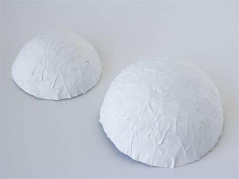 Paper Bowl - how to make paper mache bowls hgtv