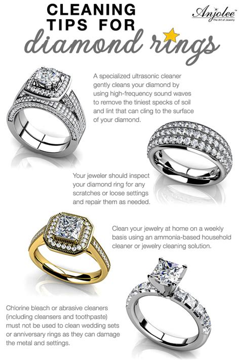 cleaning tips for rings