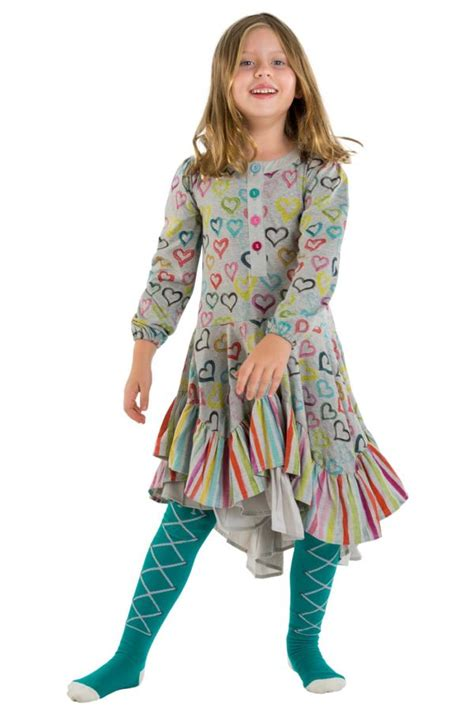 Wing Ruffle paper wings colored hearts ruffle dress