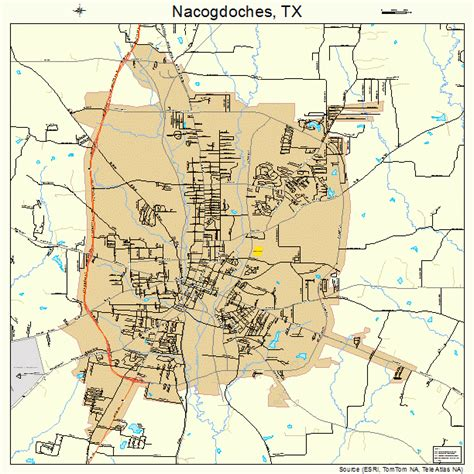 map of nacogdoches county texas nacogdoches texas map 4850256