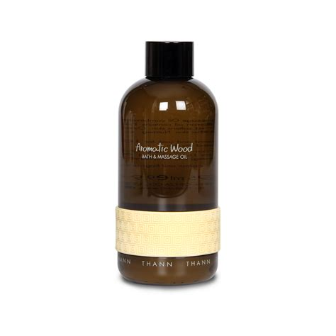 Aromatic Oils In The Bath by Aromatic Wood Bath 295ml Thann